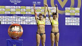VOLEY PLAYA - Liliana Fernández y Elsa Baquerizo estarán en Tokyo 2020