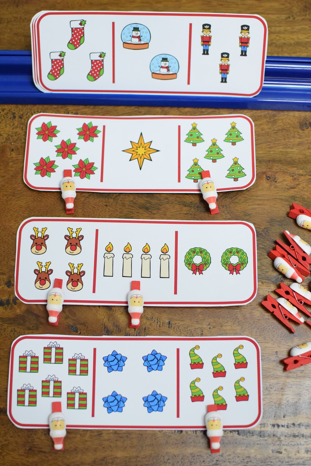Hands On Less And More Counting Activities