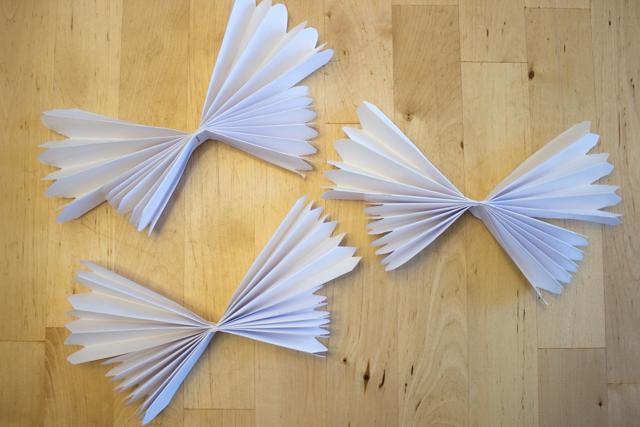 How to Make Accordion Butterflies with preschoolers