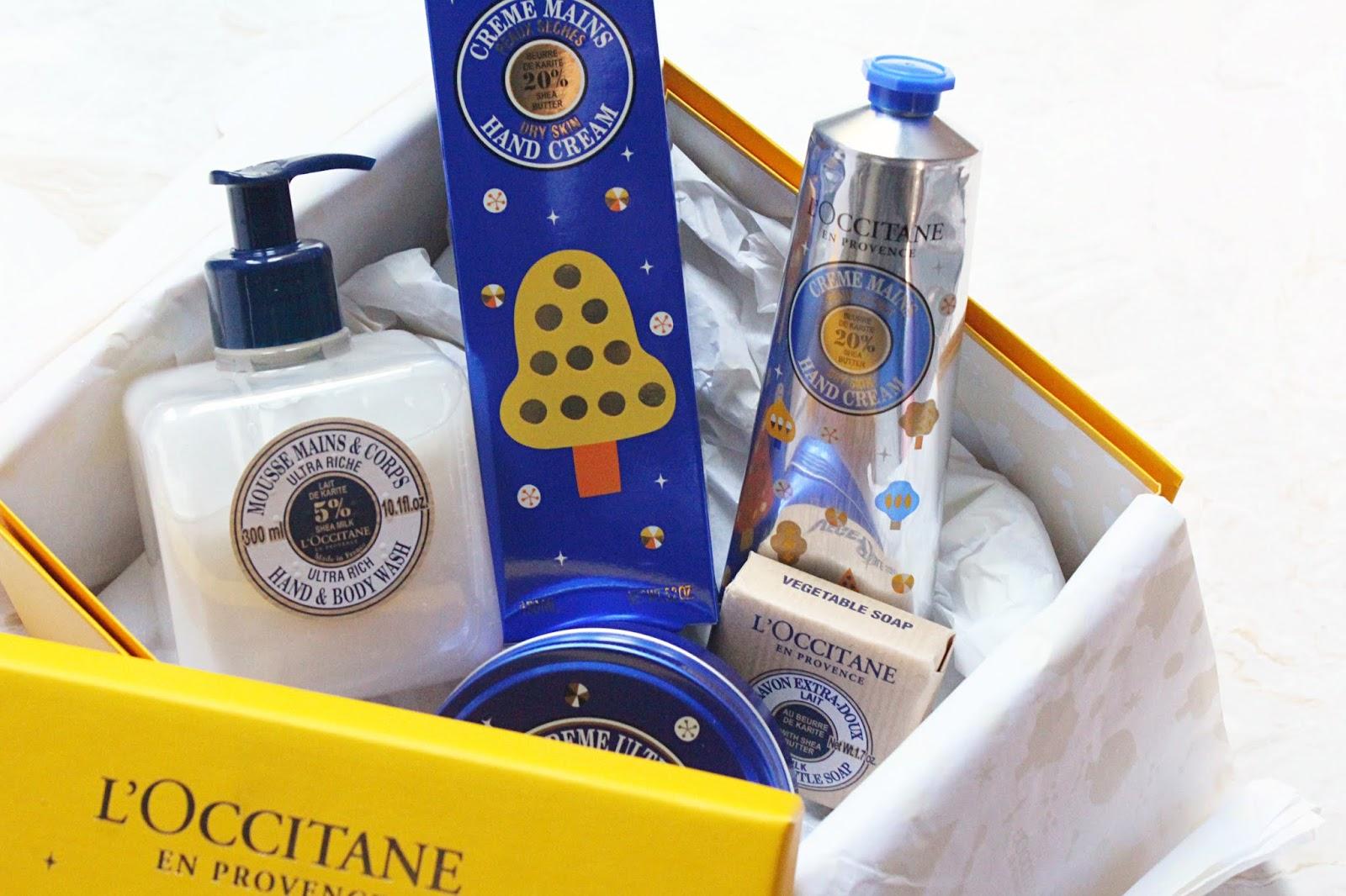 L'Occitane Nourishing Shea Butter Collection