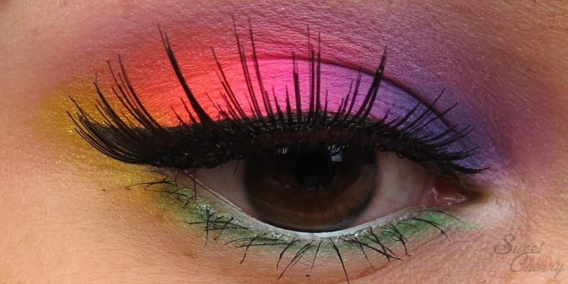 Look Battle | Kunterbunt Make-up