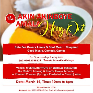 Everything You Need to Know About The Akin Akinboye Amala Hangout in Lagos