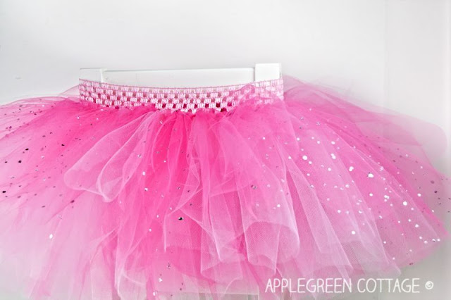 Sewing tutorial: The easiest tutu skirt you can make now!