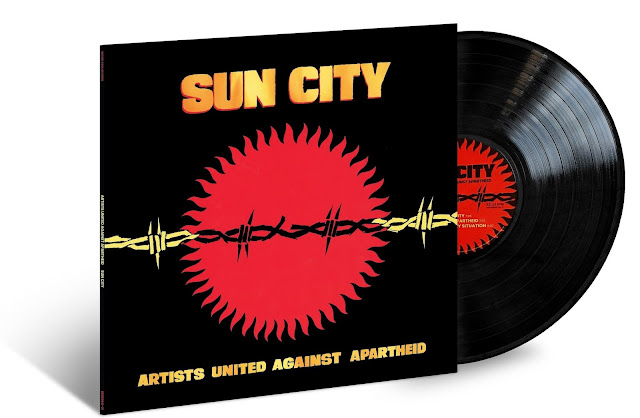 Little Steven announced the rerelease of his 1985 landmark protest album, 'Sun City,' by Artists United Against Apartheid, on vinyl on the 30th anniversary of Nelson Mandela's historic release from a South African prison after 27 years in captivity.