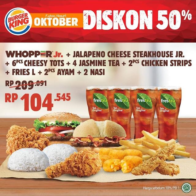 #BurgerKing - #Promo Voucher Makan Oktober 2019