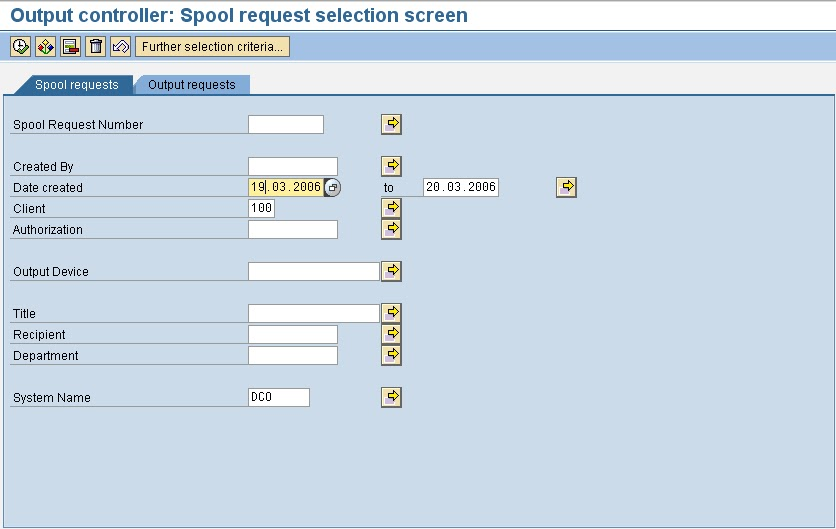 How To Check SAP Spool Request [SP01]
