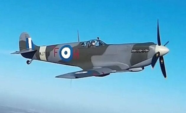 Spitfire MJ755: Επιστρέφει την Πέμπτη στην Ελλάδα το θρυλικό αεροσκάφος του Β' ΠΠ (BINTEO)