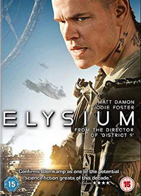 Elysium 2013 Dual Audio Hindi 720p BluRay 900mb