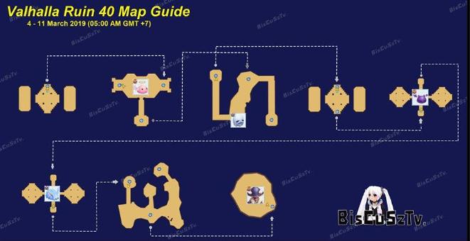 Map guild valhalla ruins edisi terbaru bulan maret 25 2019