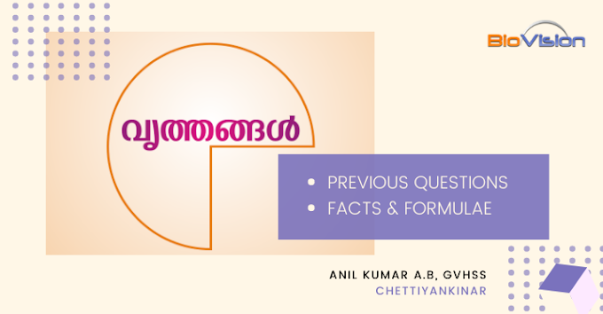 Class 10 Mathematics - Unit 2 Circles - Previous Questions and Facts & Formulae