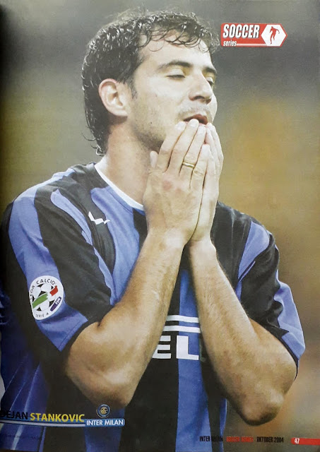 DEJAN STANKOVIC OF INTER MILAN