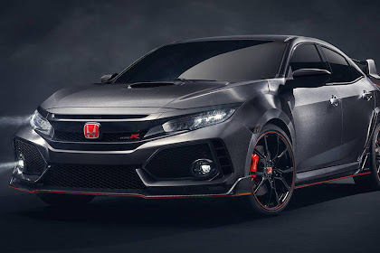 It's the new Honda Civic Type R 2017