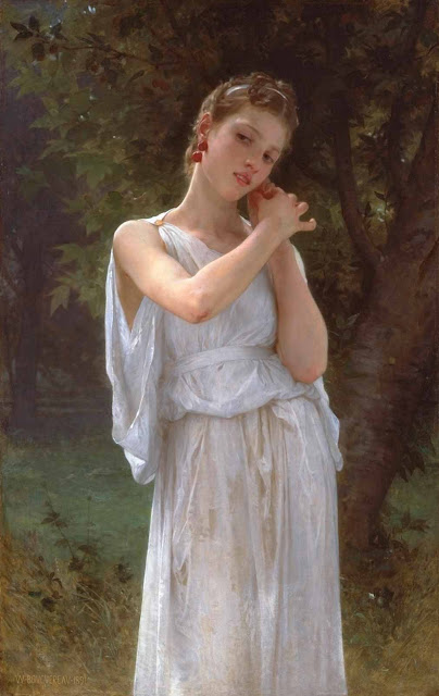 Адольф Вильям Бугро - Серьги (1891)