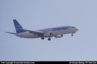 Boeing 737 Next Gen EC-MKL