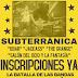 TODO LISTO PARA EL IX MONSTER DEL ROCK SUBTERRÁNICA COLOMBIA.