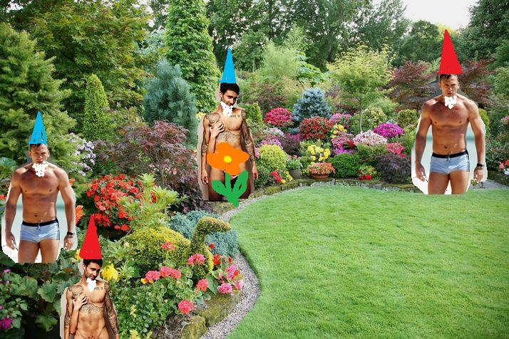 Female Garden Gnomes: Party Of 3: I Am A Marketing GENIUS