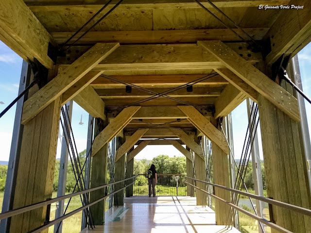 Salburua, interior de la pasarela de Ataria