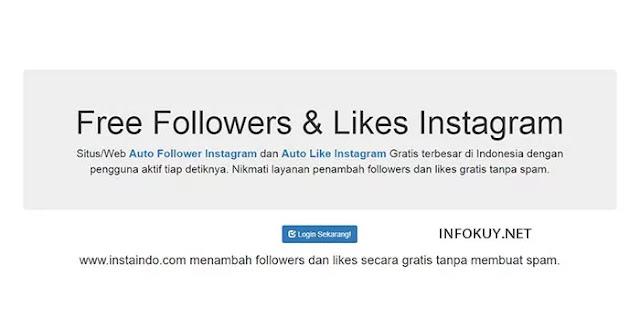 instaindo - situs auto followers instagram