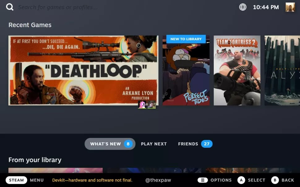 Heres what the Steam Deck UI will look like on your desktop
