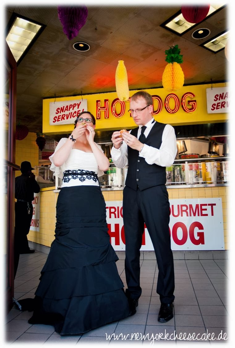 New York, heiraten, Hot Dog, Gray's Papaya
