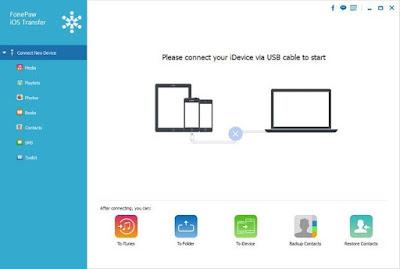 تحميل برنامج نقل الملفات بين الايفون والكمبيوتر FonePaw iOS Transfer 2021