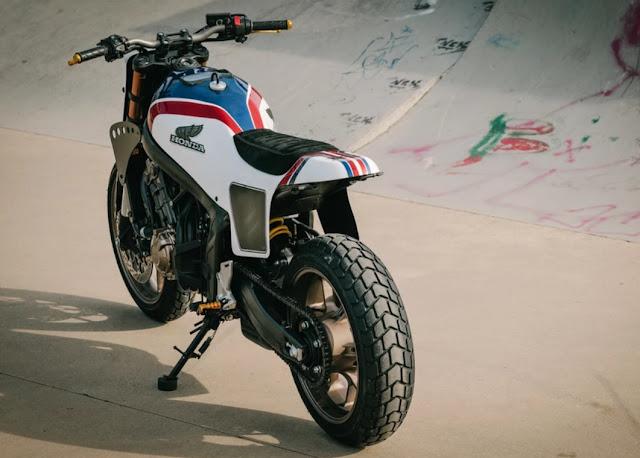 Honda CB650R By Kingston Hell Kustom