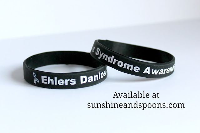 Ehlers Danlos Syndrome awareness bracelets
