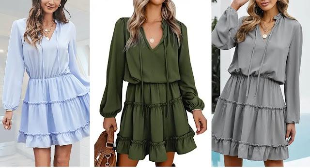 BTFBM Casual Summer Dresses X Large