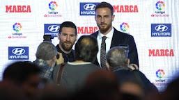 Messi Bikin Bingung Oblak: Matanya ke Bola, Tapi Bisa Melihat