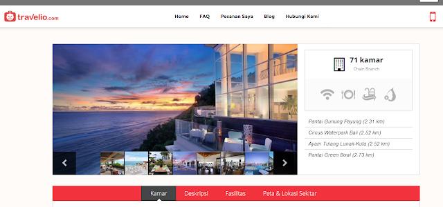 hotel bali di travelio.com