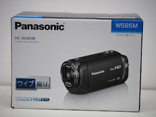 パナソニック ビデオカメラ HC-W585Mの新品未使用品を1台お買い取り致しました
