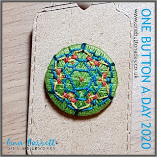 Day 274 : Meander - One Button a Day 2020 by Gina Barrett