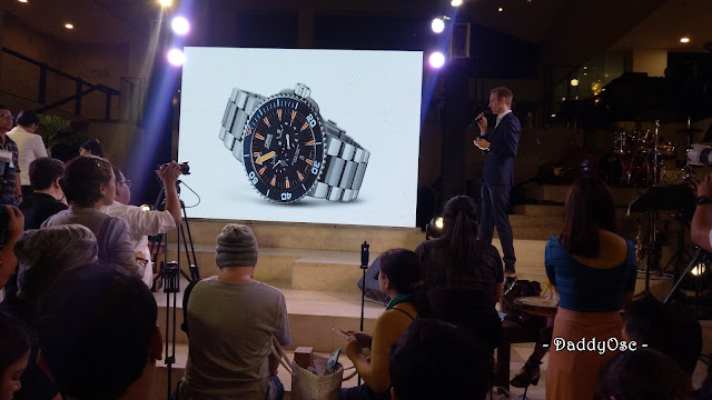 Oris Watch Deep Dive Campaign
