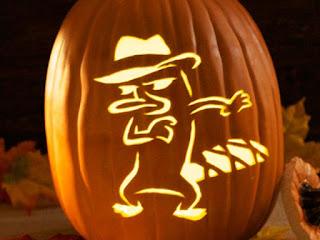 agent of halloween pumpkins fruit carving