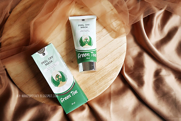 PEEL OFF MASK GREEN TEA BY KFSKIN COSMETICS