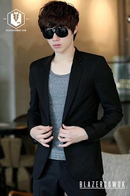 blazer cowok blazercowok.com jaket korean jas pria bk01 l