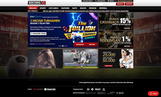 Permainan Judi Online | Bintang88.com