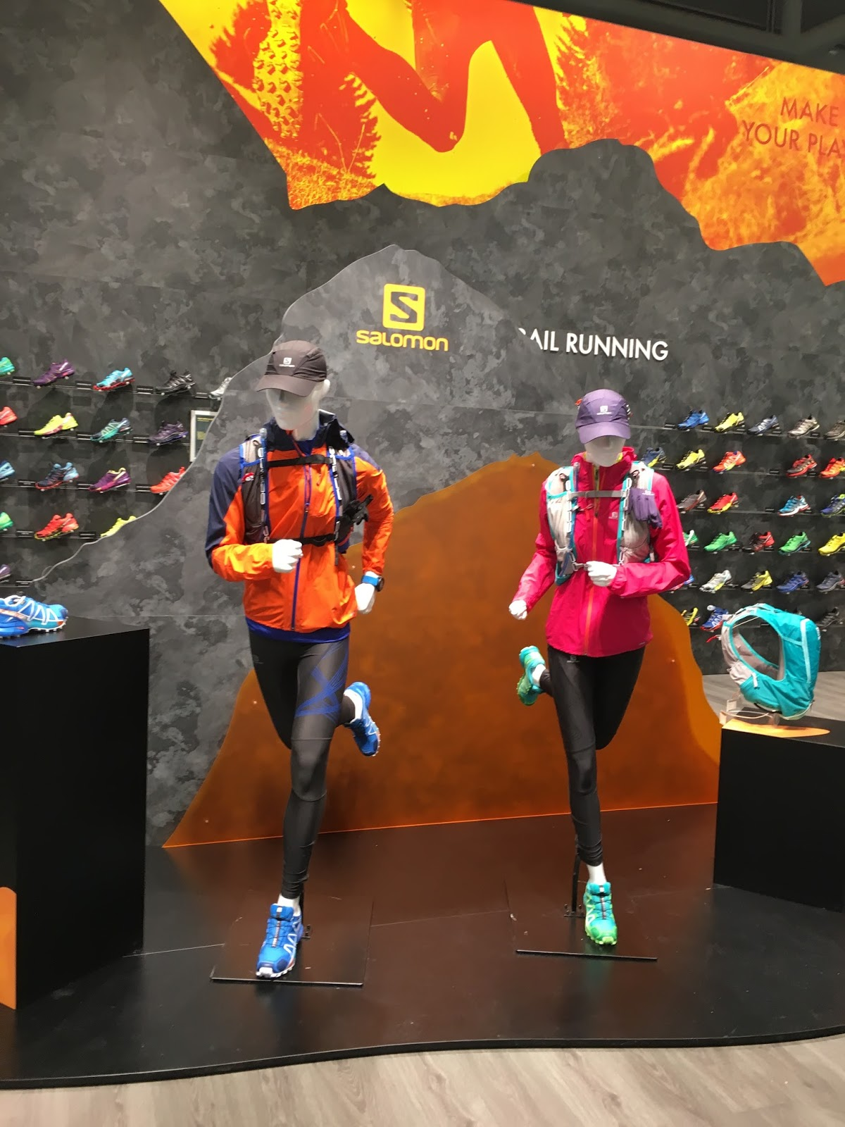 Dreaming of Footpaths: Salomon: ISPO Outdoor Sports Show