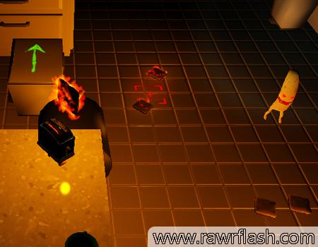 Jogos de simulação, 3D, terror: Simulador de torradeira