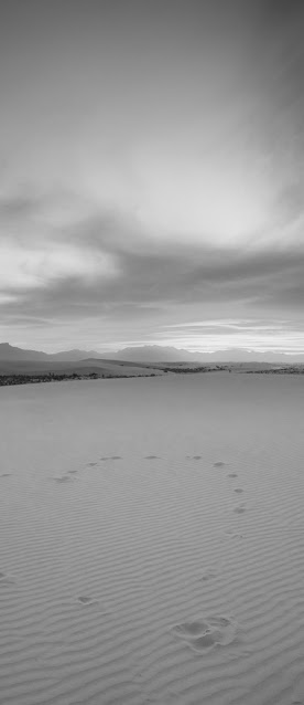 sand and sky black and white wallpaper 4k iphone