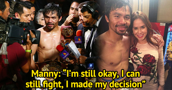 Manny Pacquiao's Fight With Bradley Was The Last One As He Announced His Retirement!