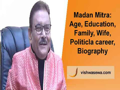 Madan Mitra: Age, Education, Family, Wife, Son, Daughter, Assets, Political career, Biography