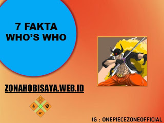 Fakta Who's Who One Piece
