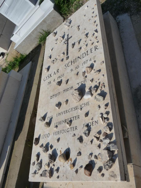 Tumba de Oskar Schindler. Viaje a Jerusalem | turistacompulsiva.com