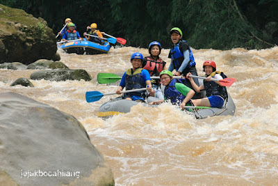 Rafting di Kali Progo
