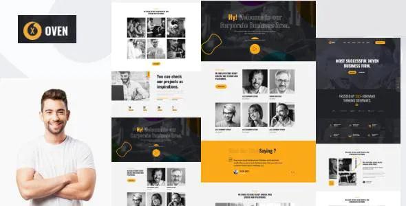 Best Creative Business Service HubSpot Theme