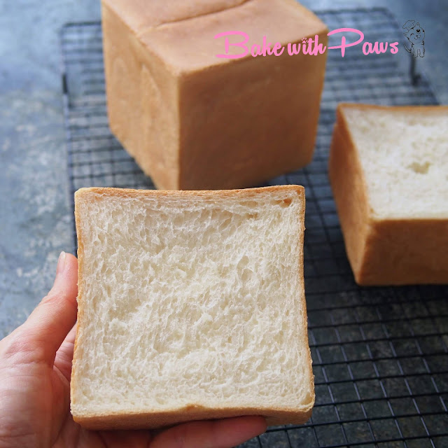 Japanese Soft White Bread (Shokupan)