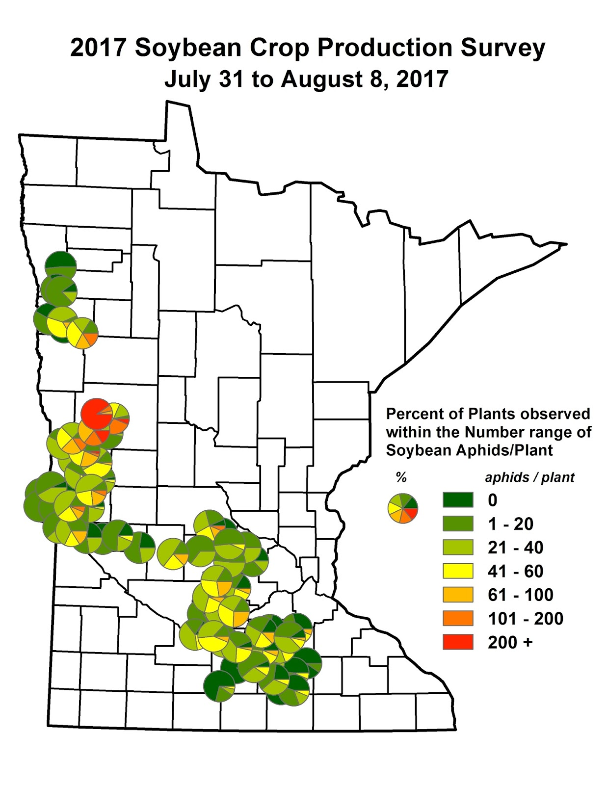 Cropping issues in northwest minnesota update nw mn soybean soybean aphid populations continue to increase in west and south central minnesota though we are approaching a time when growth stage day length and nvjuhfo Images
