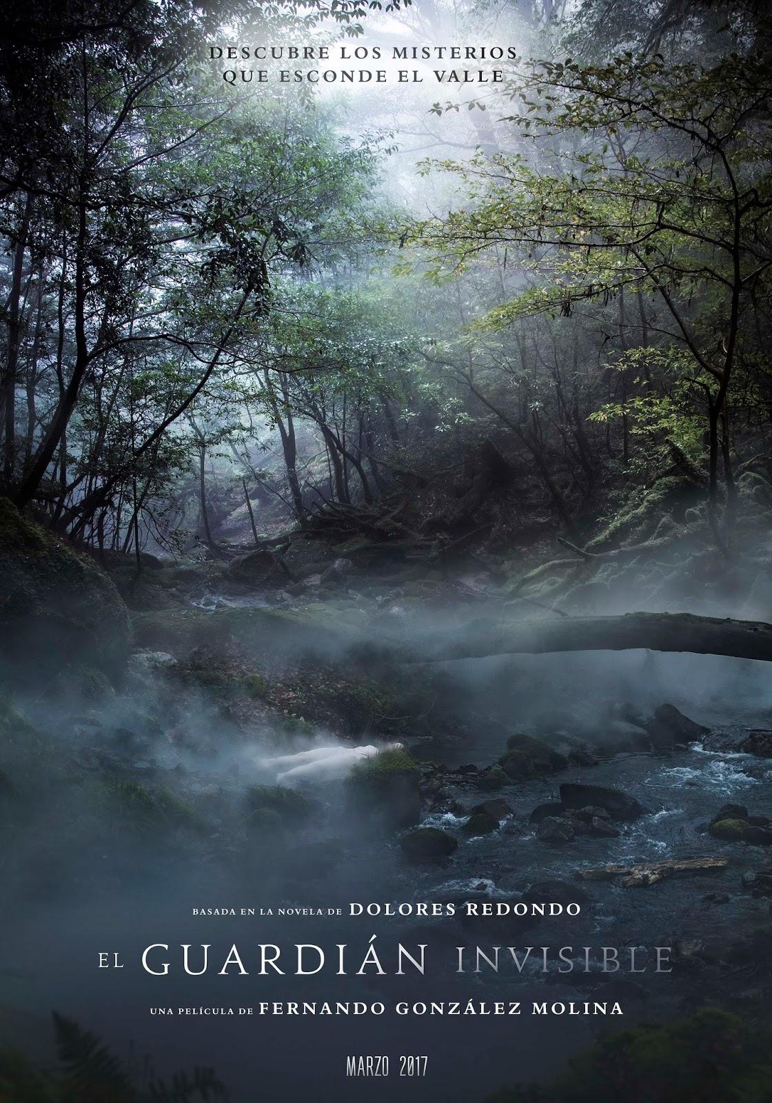 Póster y teaser tráiler de 'El guardián invisible' basada en el best seller de Dolores Redondo