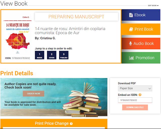 Draft2Digital publică și cărți tipărite in limba romana-Book2Read